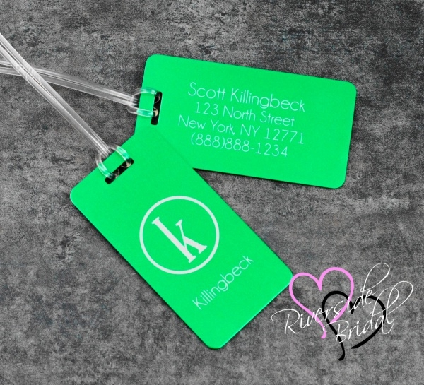 Personalized Luggage Tag Design