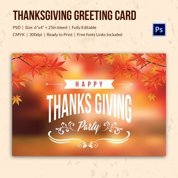 Personalized Thanksgiving Greeting