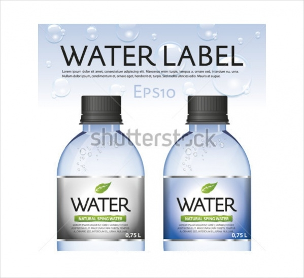 Personalized Water Bottle Label