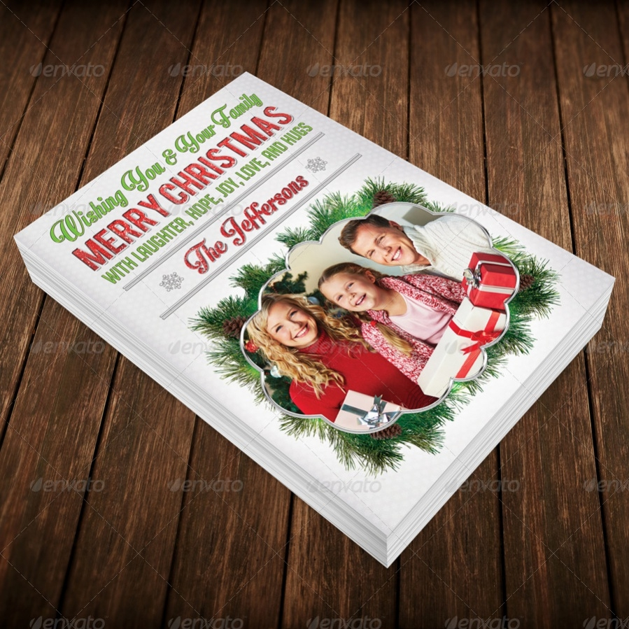 Photo Christmas Greeting Card