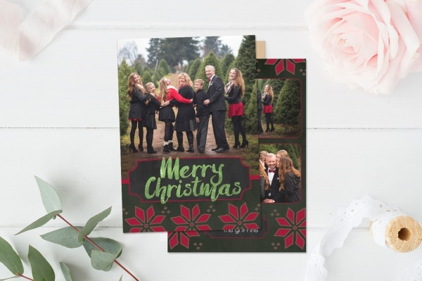 Photoshop Business Christmas Card