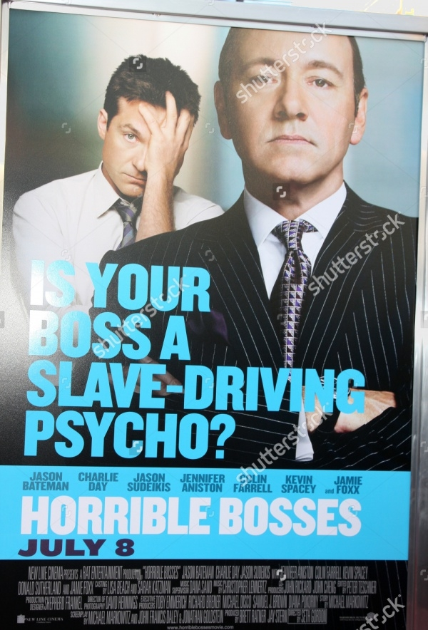 Photoshop Horrible Bosses Movie Poster