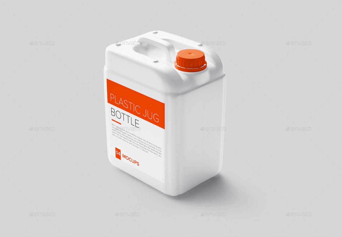 Plastic Jug Water Bottle Packaging