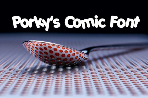 Porky's Comic Font
