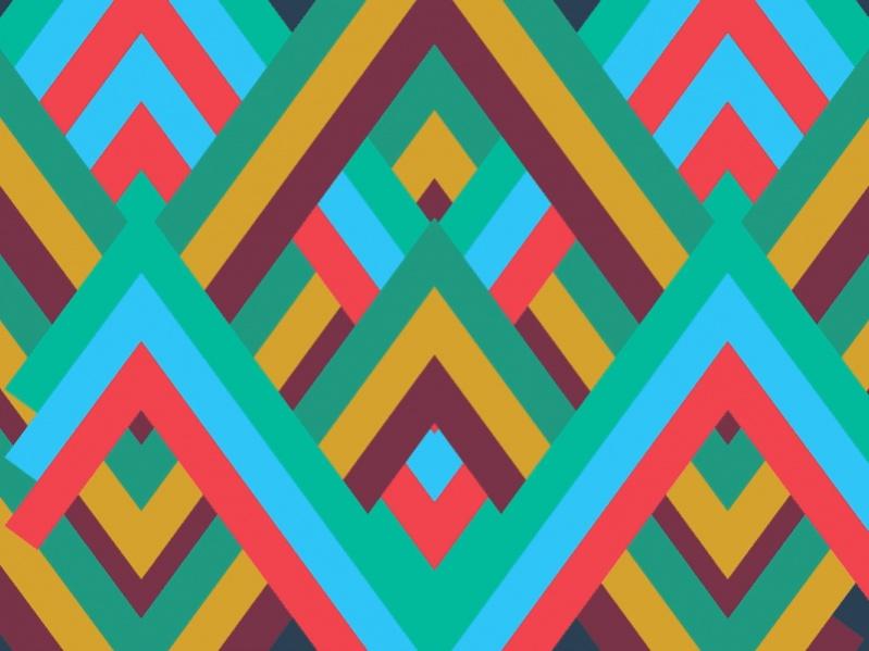 Print Chevron Pattern