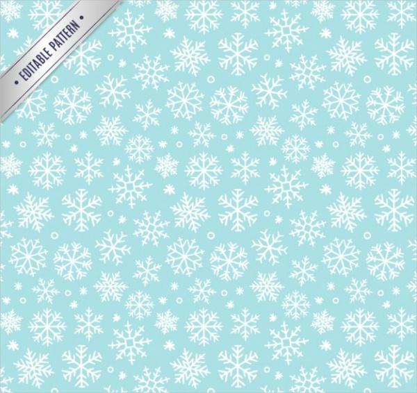 Print Snowflake Pattern