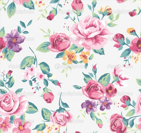 24+ Flower Pattern Designs