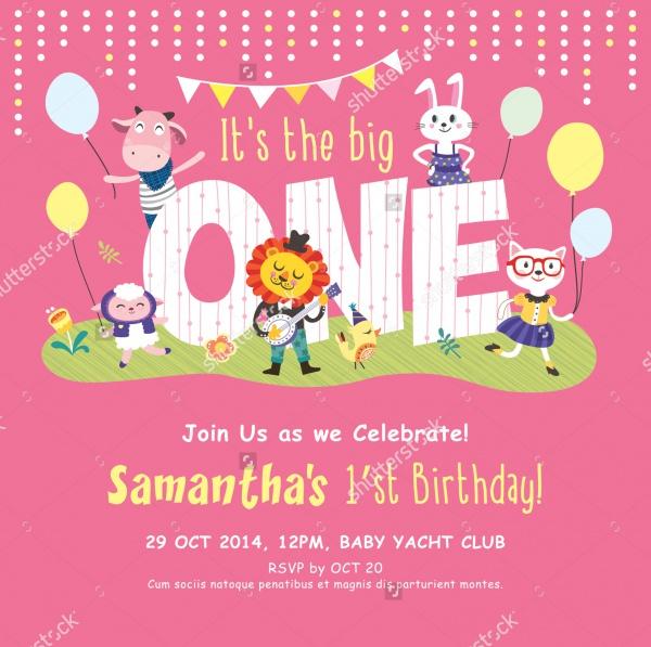Printable Birthday Invitation