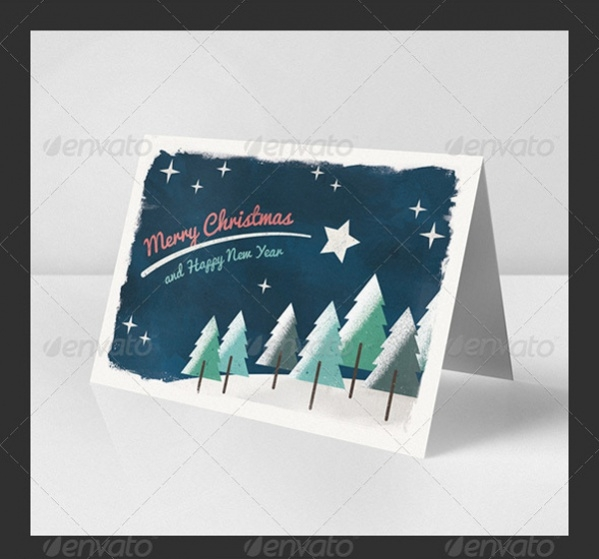 Printable Christmas Greeting Design
