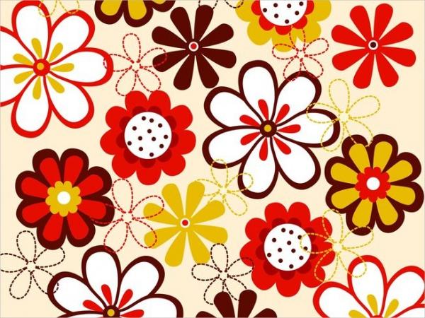Printable Flower Pattern