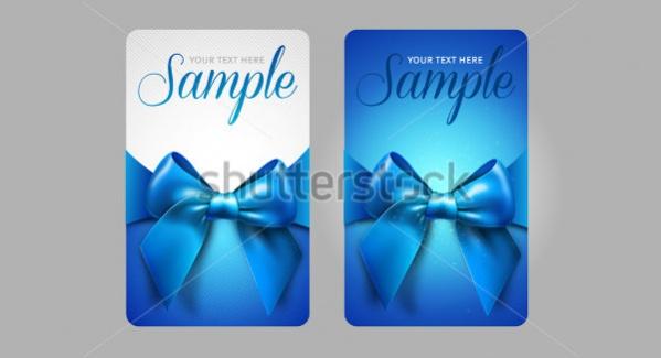 Printable Gift Card Design