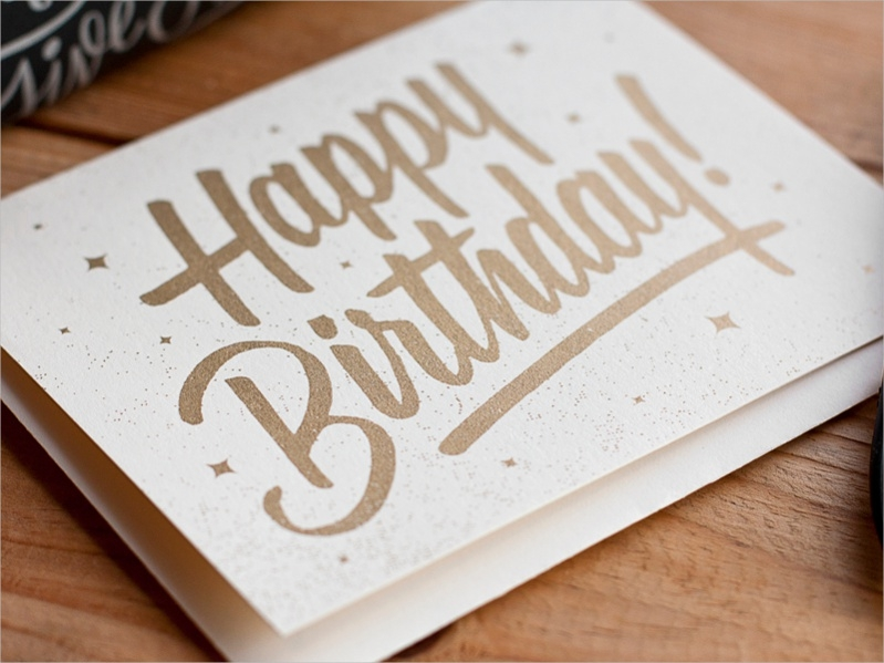 Printable Handmade Birthday Card