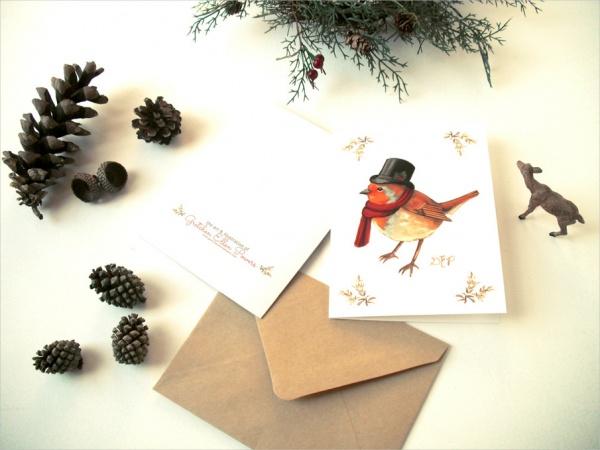 Printable Holiday Christmas Card