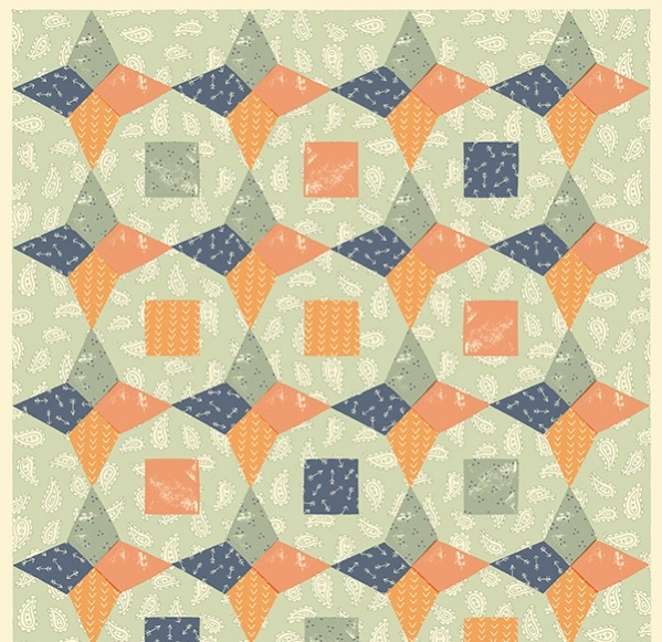 Quilt Wrapping Papers Pattern