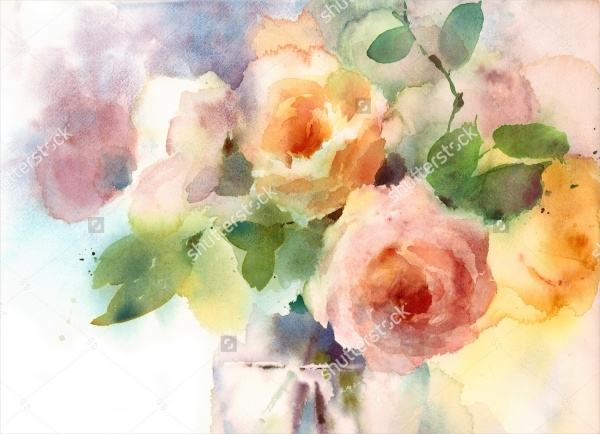 20 Easy Watercolor Paintings JPG AI Illustrator Download