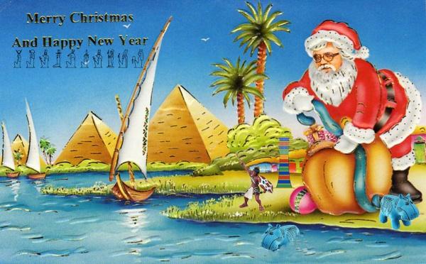 Santa Christmas Printable Card