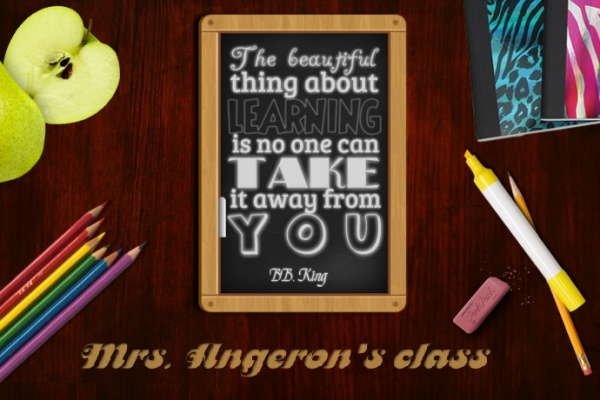 School Classroom Motivational Poster