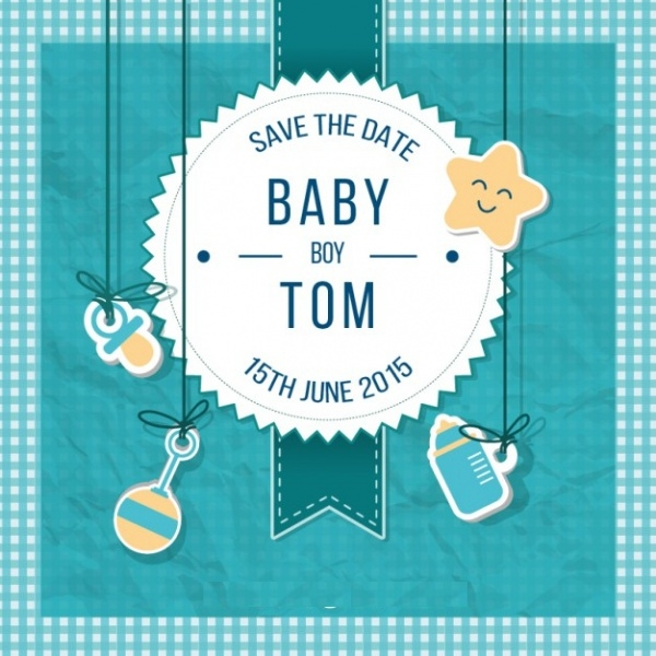 ScrapBook Baby Shower Invitation