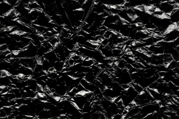Shiny Black Paper Texture