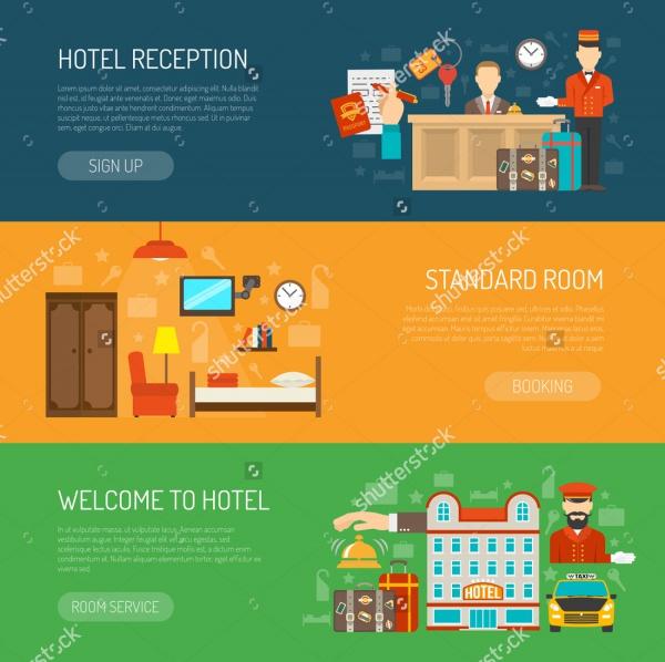 Simple Hotel Banner Design
