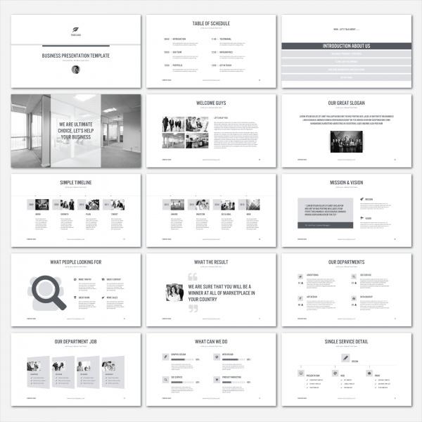 Simple Keynote Presentation