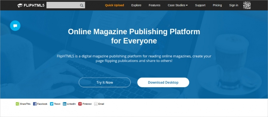 Simple Online Magazines