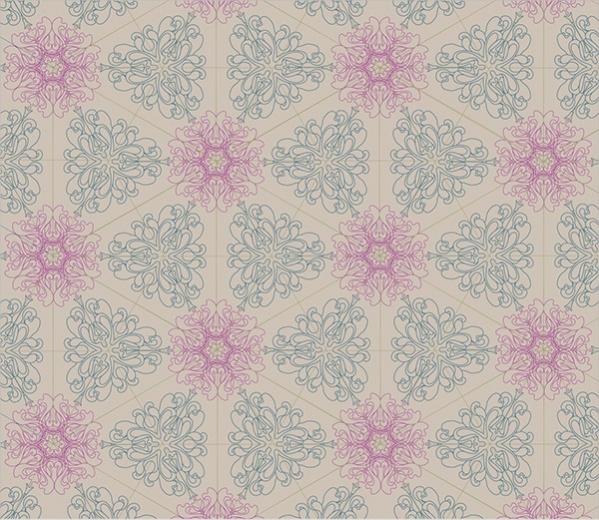 Simple Snowflake Pattern