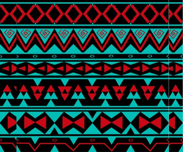 simple tribal pattern design