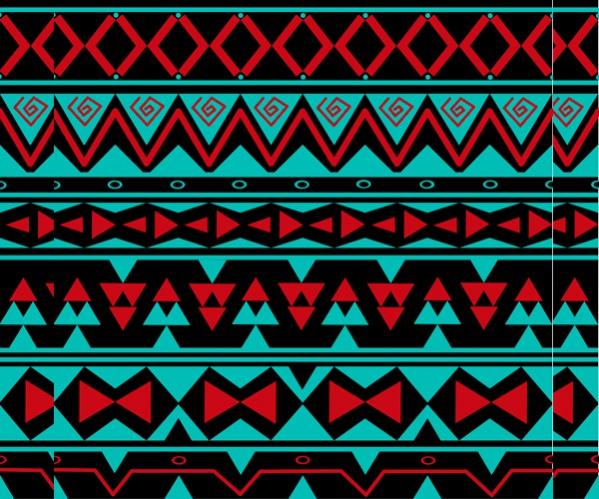 Simple Tribal Pattern Design