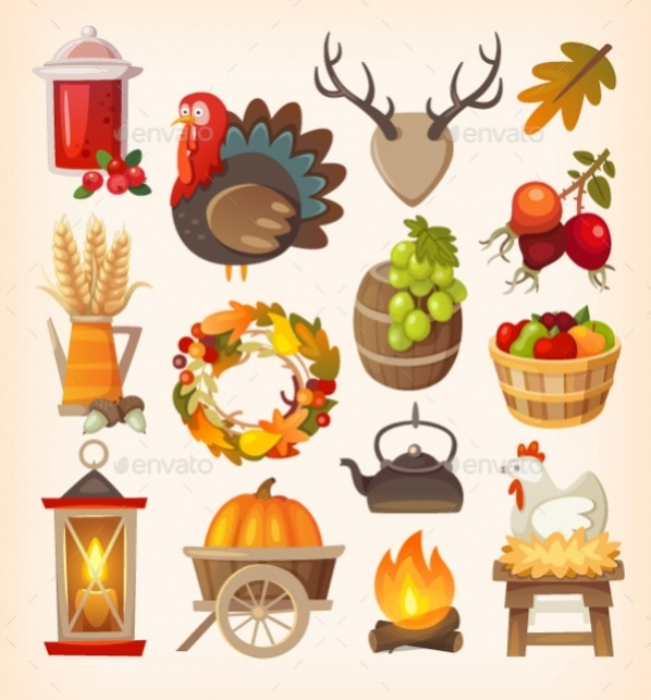 thanksgiving-day-icons
