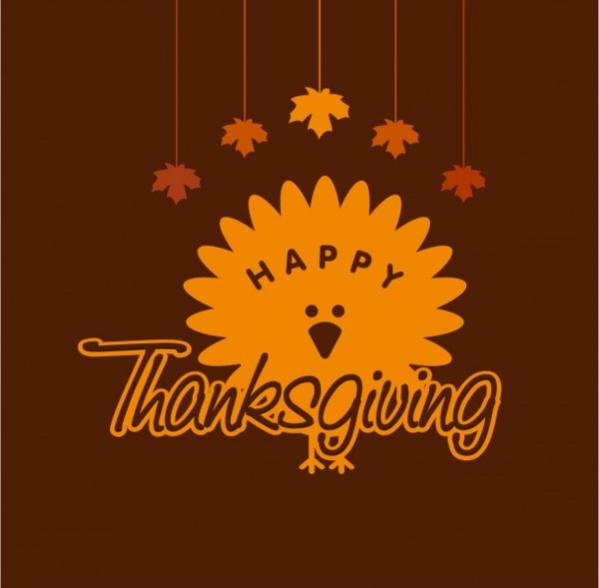 Thanksgiving Day Invitation Logo