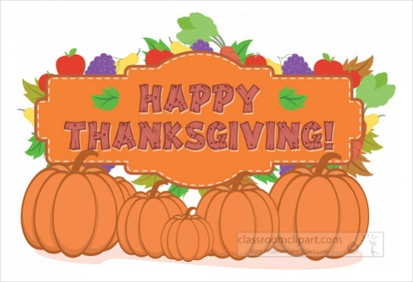 Thanksgiving Greeting Clipart