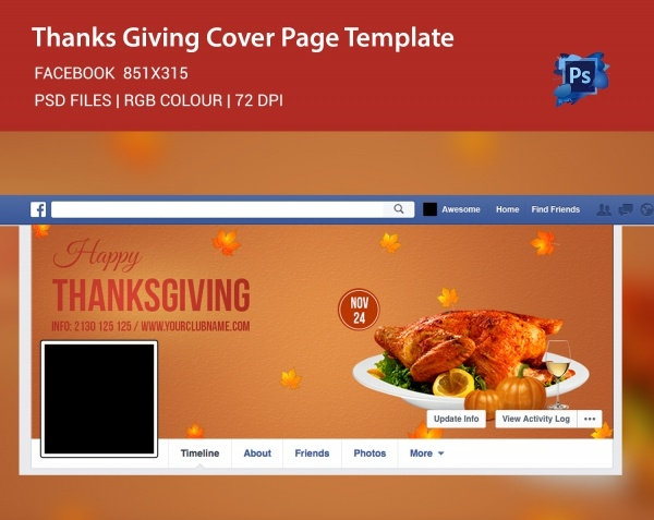 Thanksgiving Social Media Post