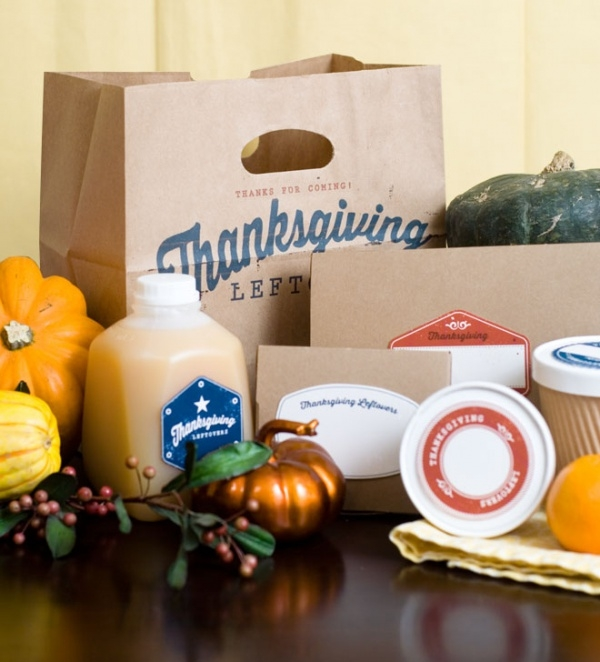 Thanksgiving printable Packaging.