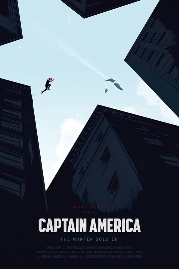 The Captain America Movie Poster