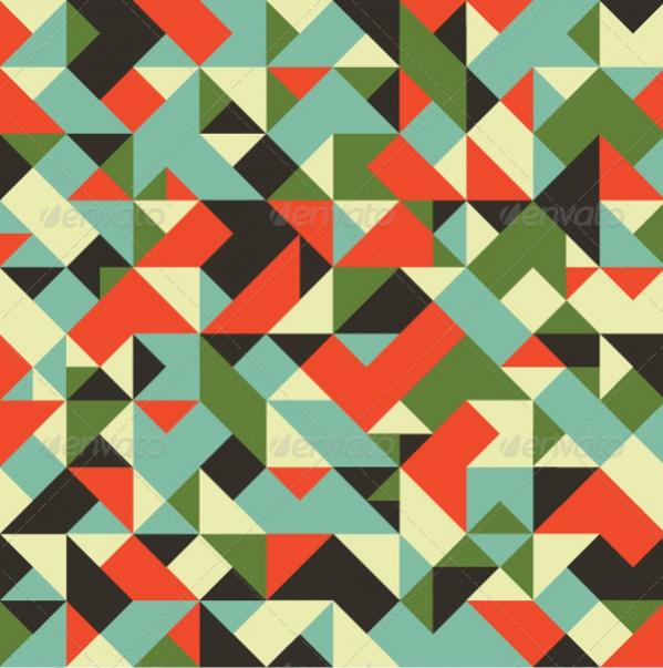 Tileable Geometric Pattern