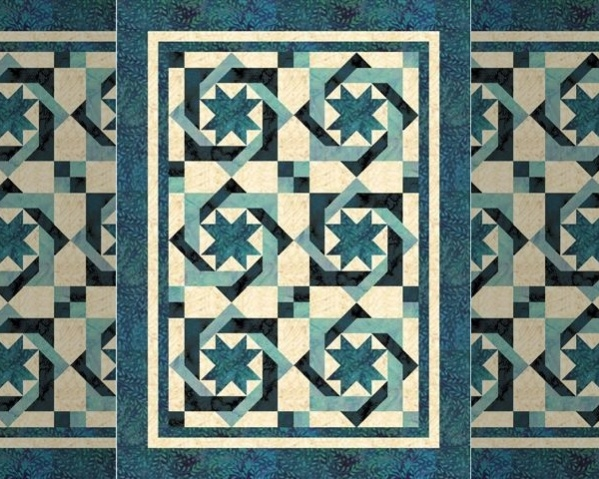 Tileable Quilt Pattern