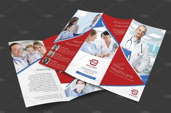 Tri Fold Medical Brochure