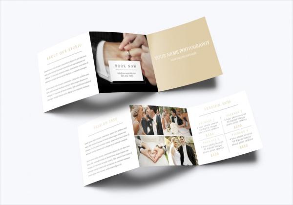 Tri Fold Photography Brochure