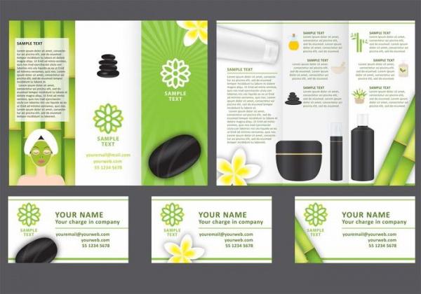 Tri Fold Spa Brochure Design
