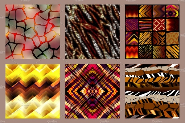 Tribal Animal Pattern