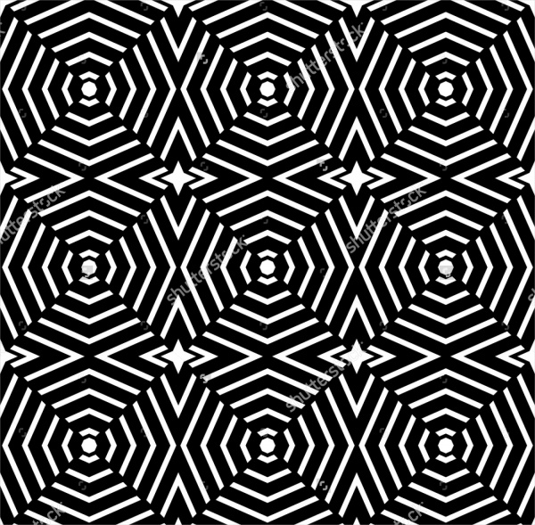 Trippy Geometric Pattern
