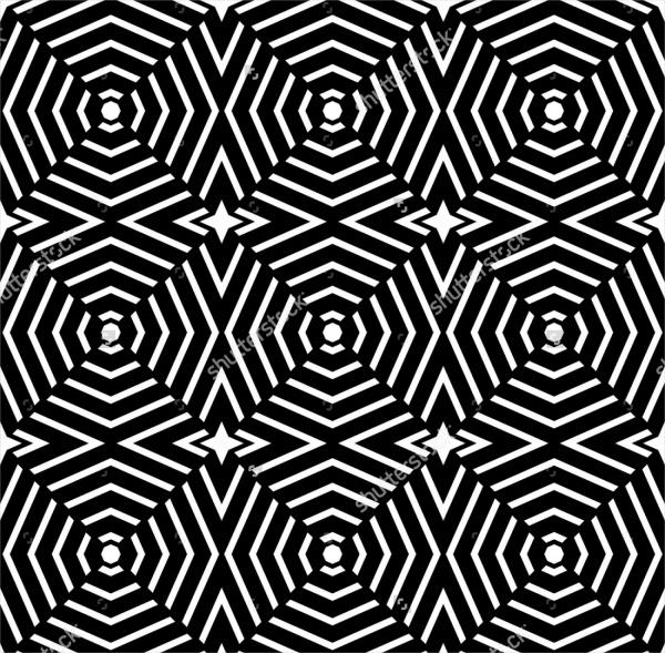 Trippy Geometric Pattern