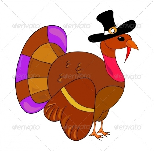 Turkey Clip Art For Thankgiving Day