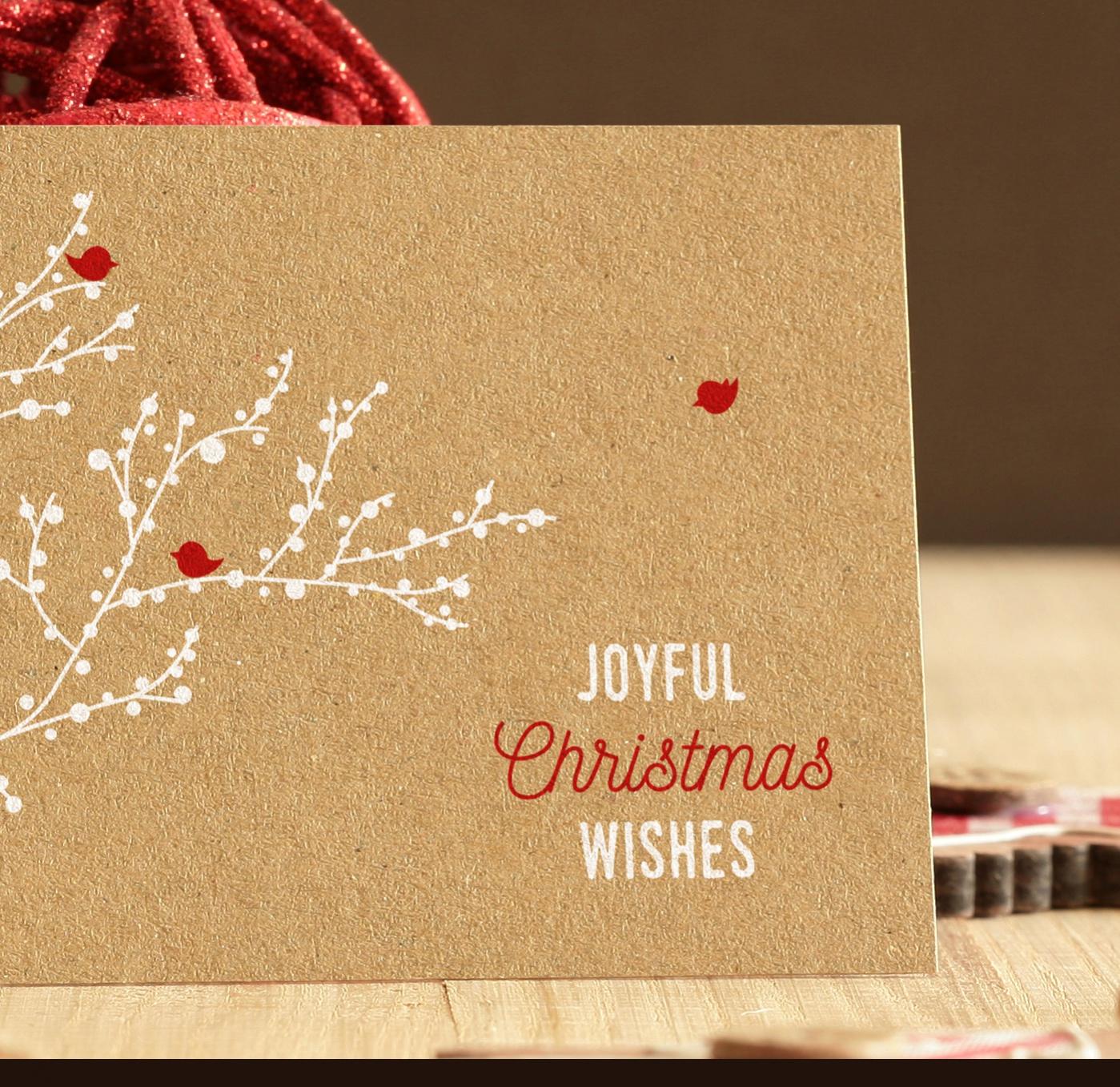 Unique Christmas Photo Card