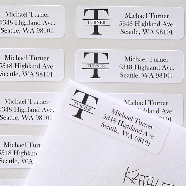 unique name address labels