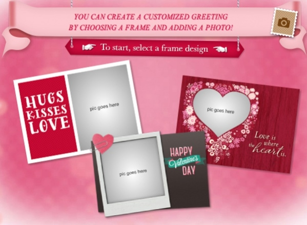 Valentine Add-a-Photo Ecard