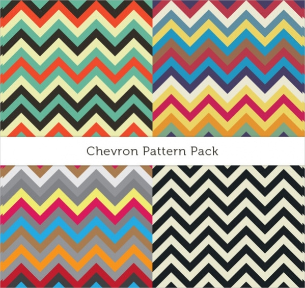 Vector EPS Chevron Pattern