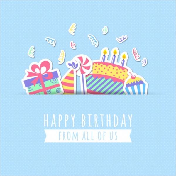 19 Free Happy Birthday Cards PSD Vector EPS Download – Happy Birthday Card Psd