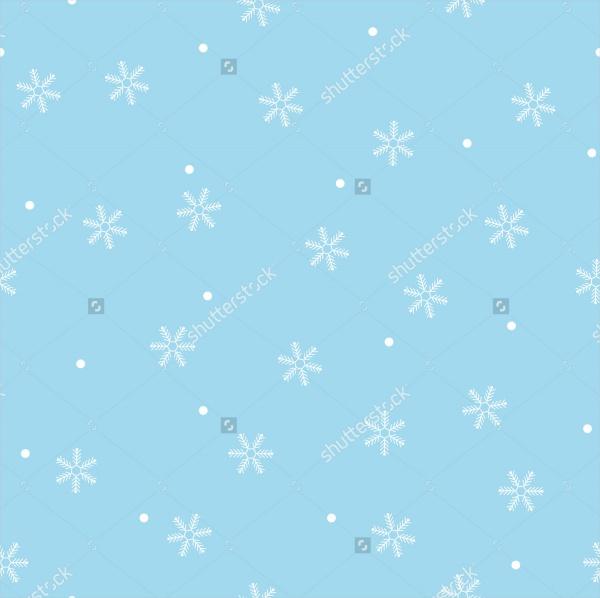 Vector Snowflake Pattern